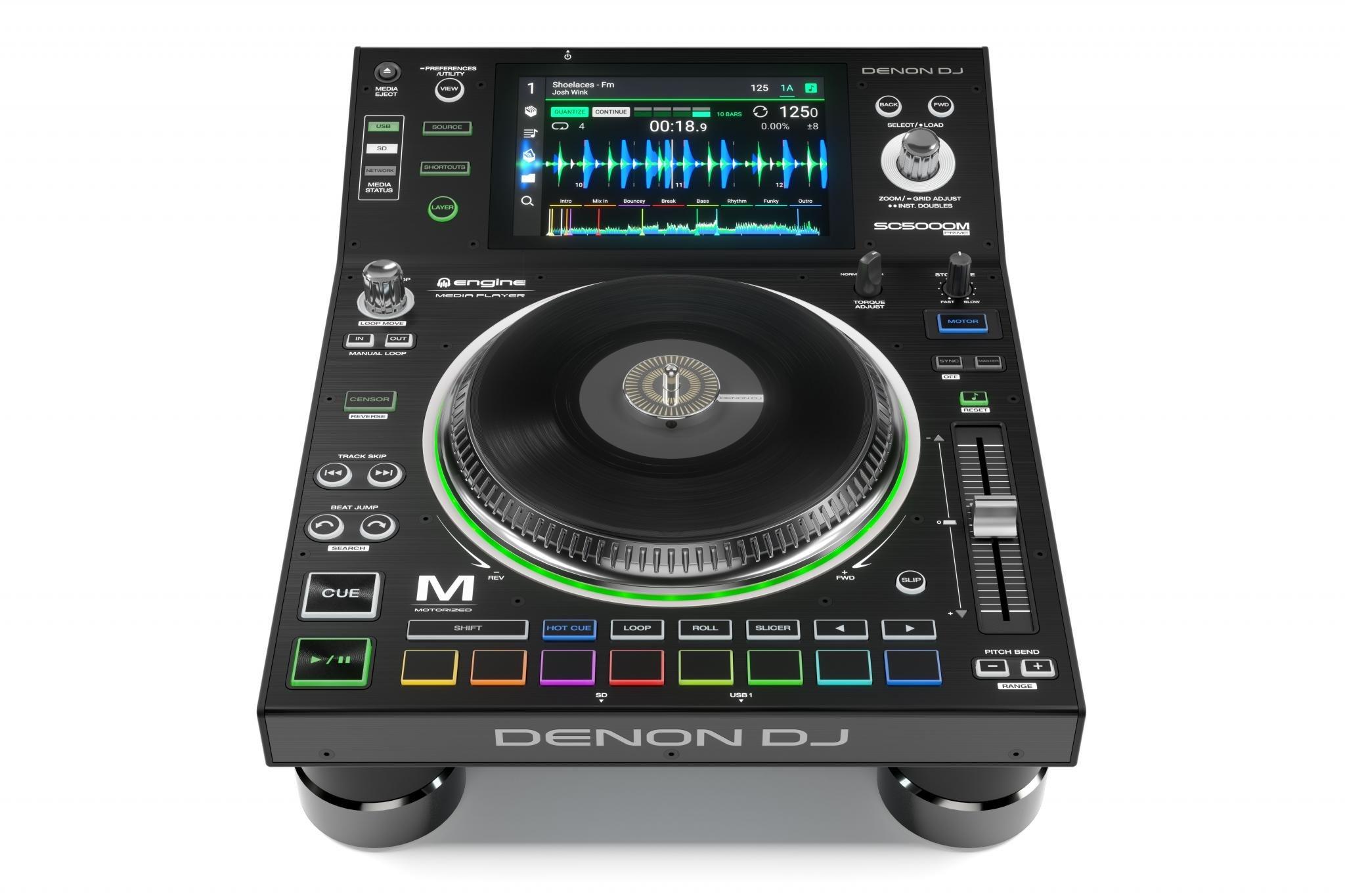 Denon DJ SC5000M motorised media player (1)