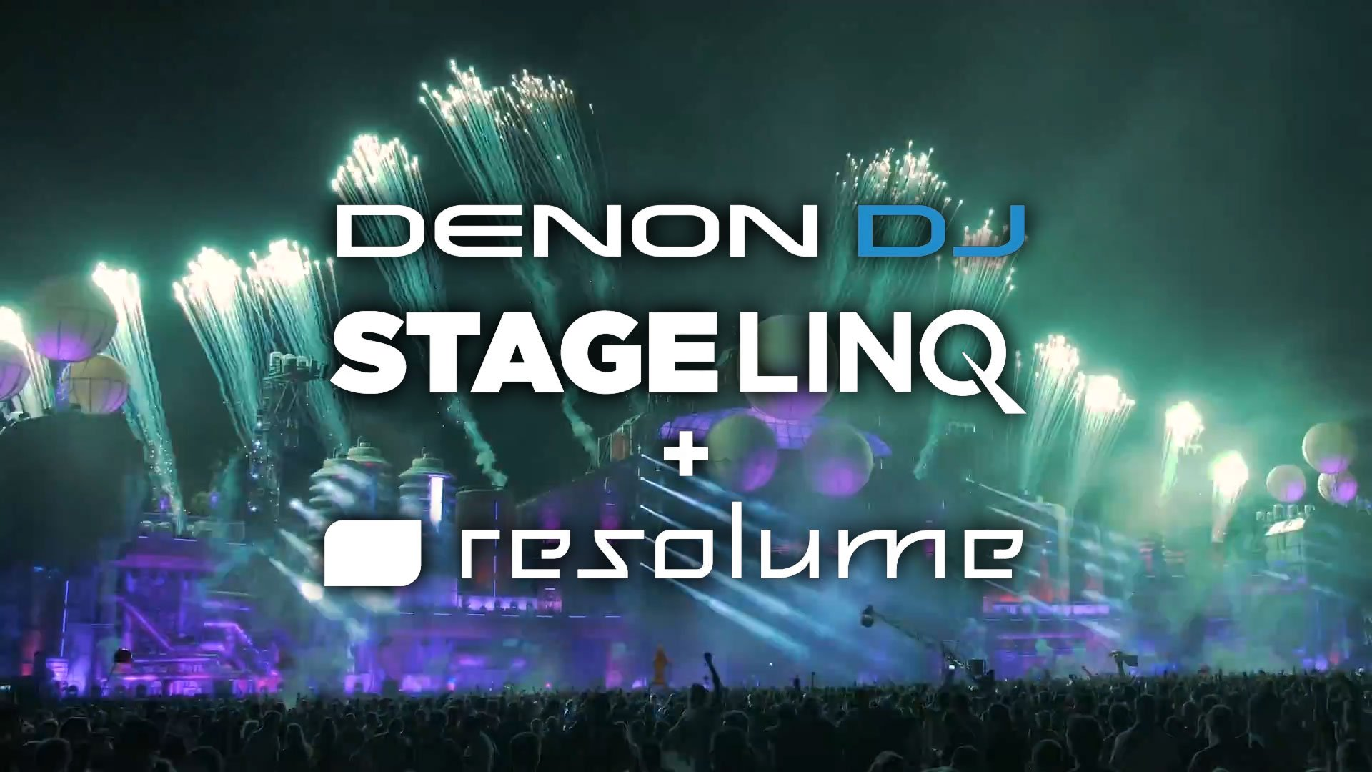 StageLinq, SoundSwitch, and Resolume — Denon DJ's visual