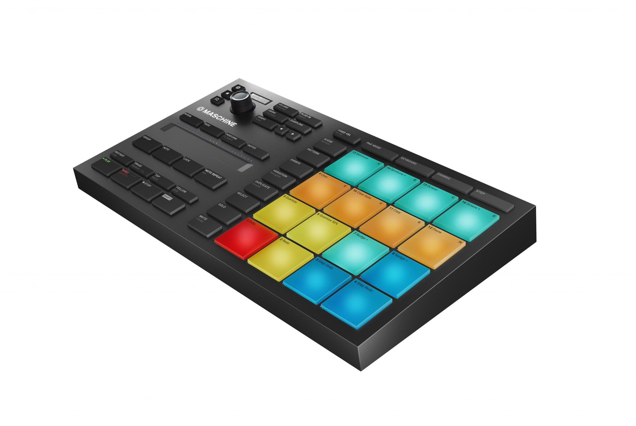 A beautiful box of buttons named Maschine Mikro MK3 | DJWORX