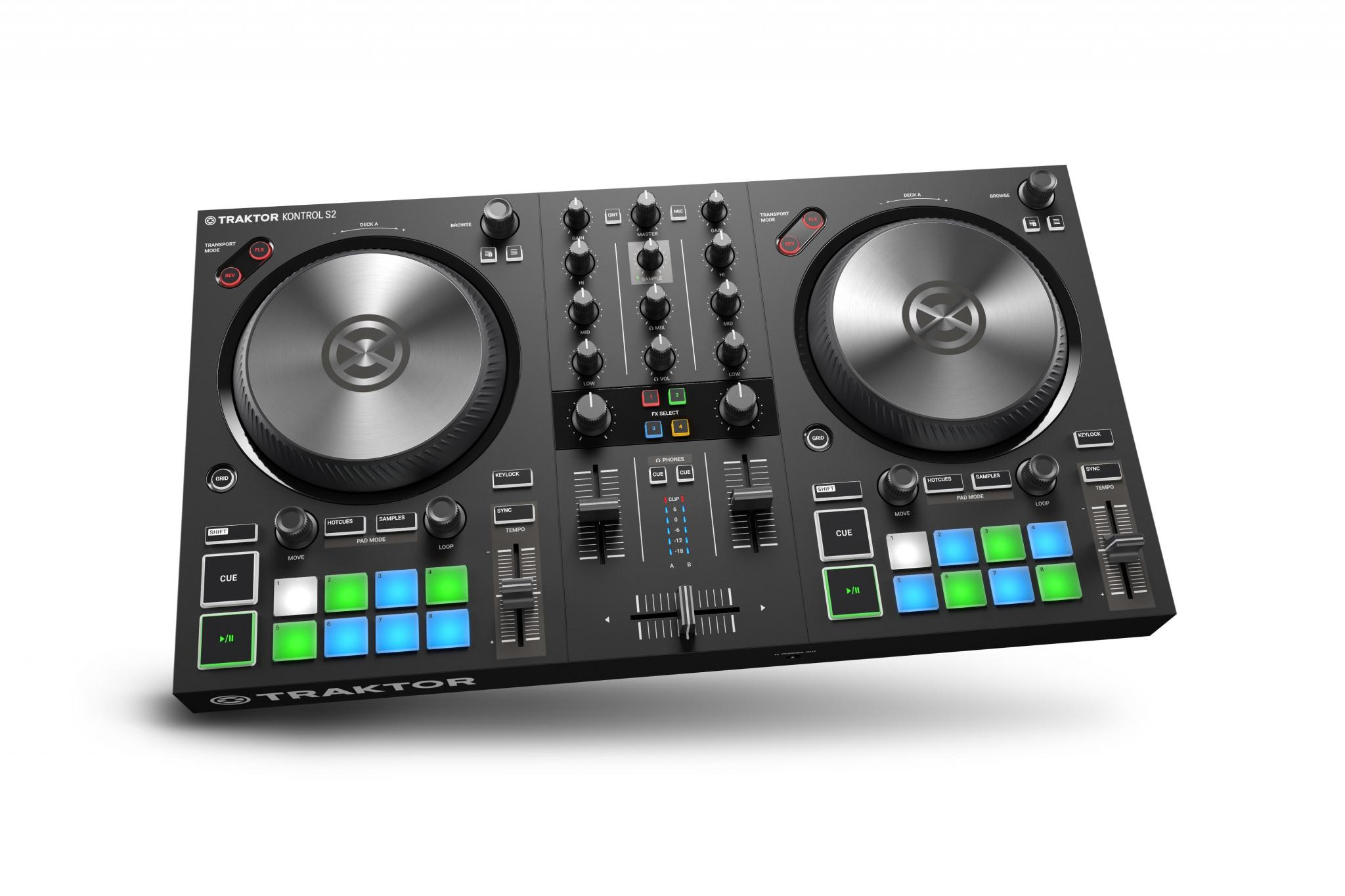 The small and perfectly formed Traktor Kontrol S2 MK3 | DJWORX
