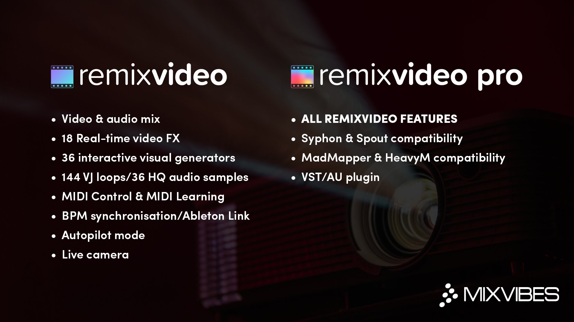 Mixvibes updates Remixvideo, and makes Remixvideo Pro   DJWORX