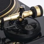 Reloop's gold RP-7000 MK2 turntable — DMC skills not included 8