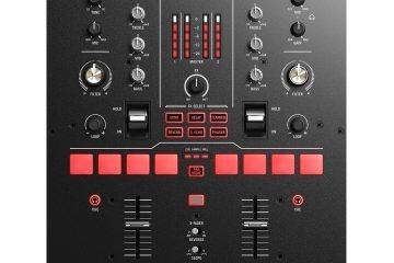 Numark Scratch Serato DJ Pro DVS mixer with mini Innofader (2)