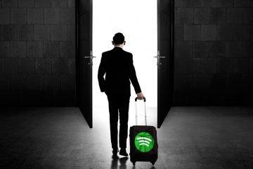 spotify leaves DJing