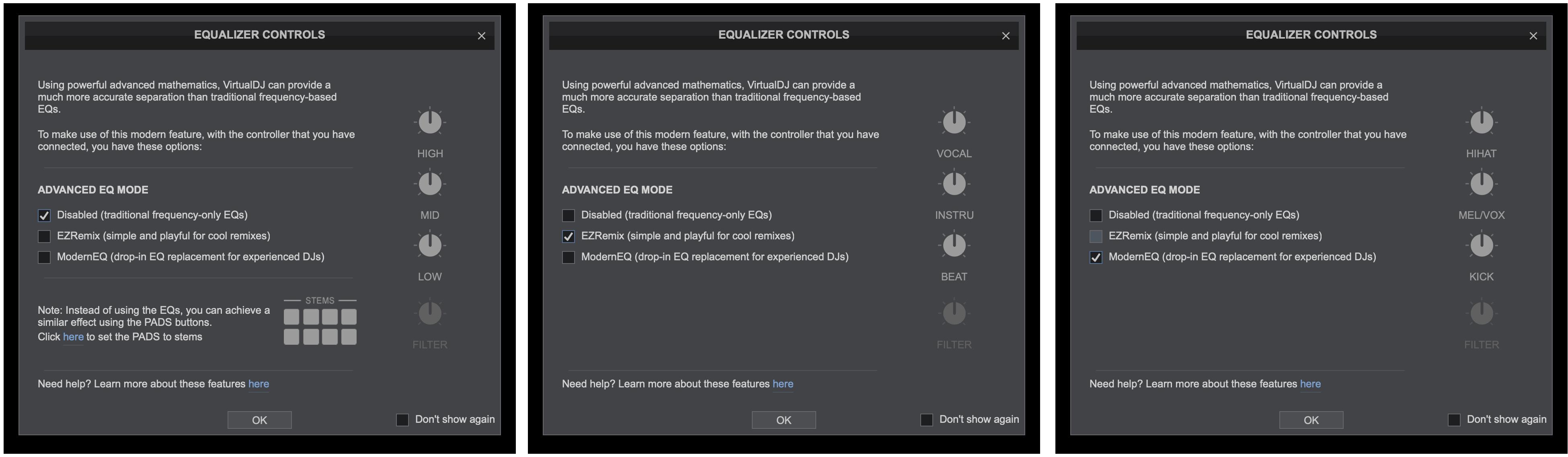 djay Pro AI Neural Mix VirtualDJ 2021 Spleeter stems audio source separation (2)