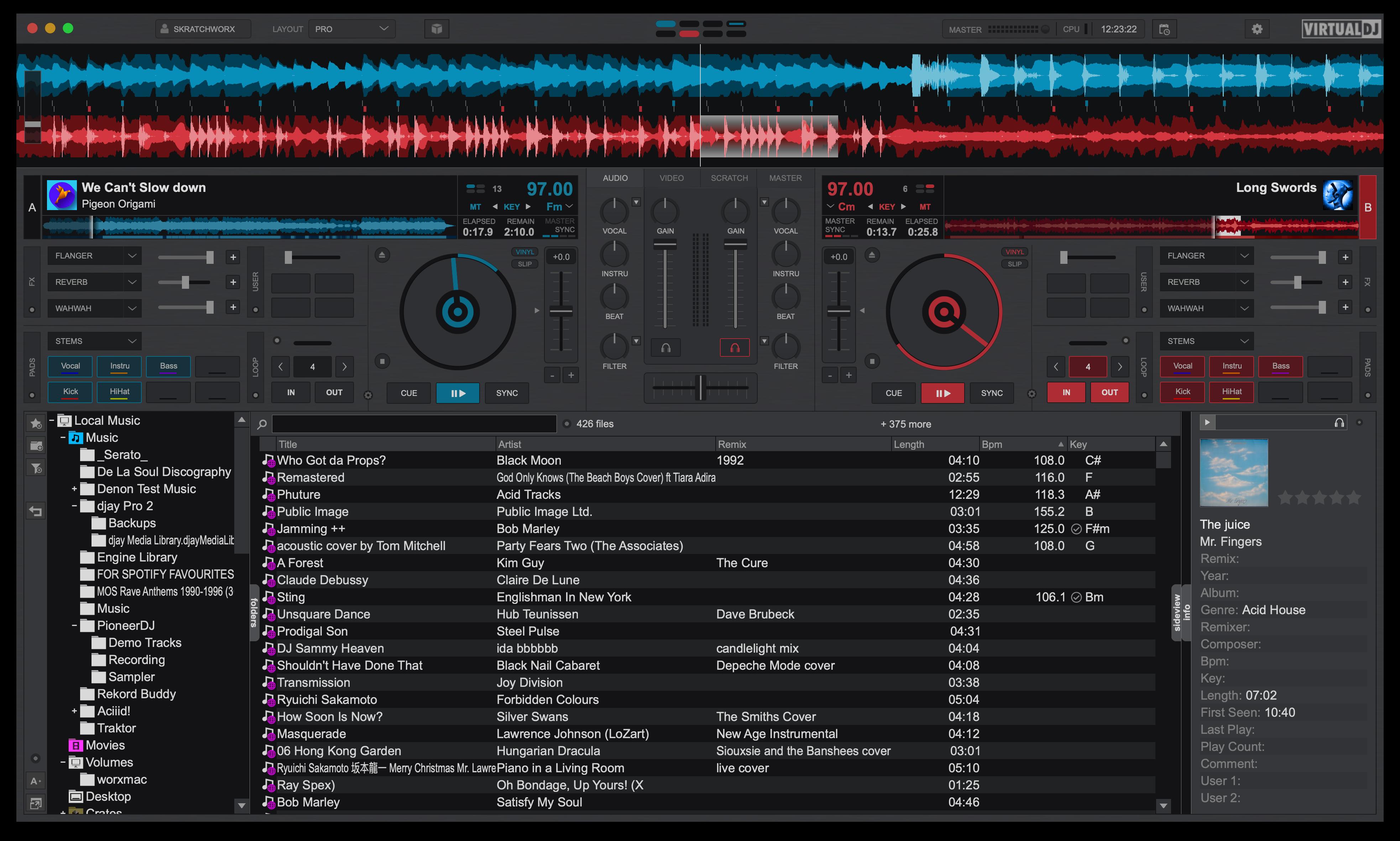 djay Pro AI Neural Mix VirtualDJ 2021 Spleeter stems audio source separation (3)