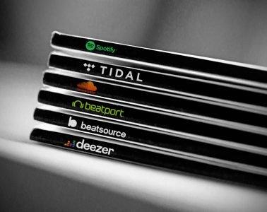 Streaming tracks Beatport Spotify beatsource tidal