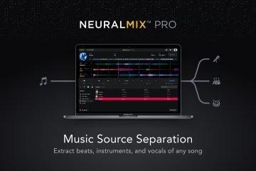 Algoriddim Neural Mix Pro Mac source separation software (15)