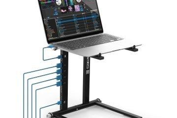 Reloop Stand Hub laptop stand USB DJ DJWORX (1)